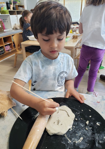 boy painting